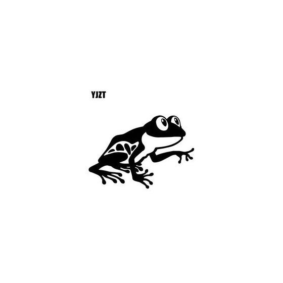 Frog Vinyl Decal Sticker V106