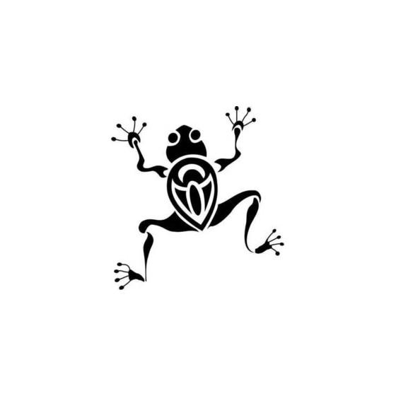 Frog Vinyl Decal Sticker V109