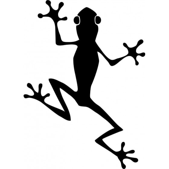 Frog Vinyl Decal Sticker V113