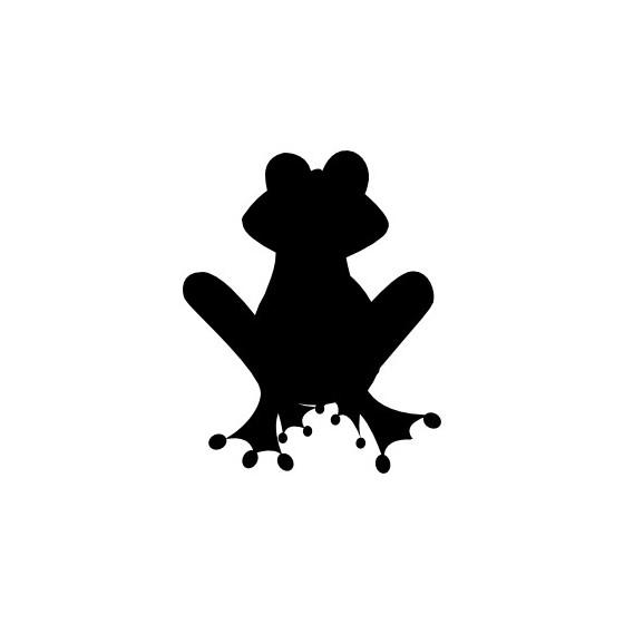 Frog Vinyl Decal Sticker V115