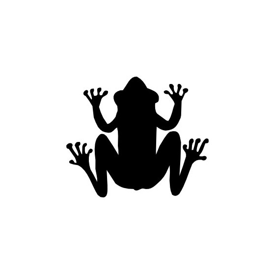 Frog Vinyl Decal Sticker V119