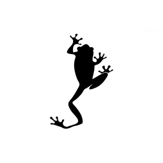 Frog Vinyl Decal Sticker V12