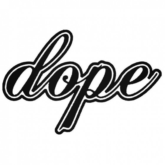 Dope Jdm Japanese 13 Decal...