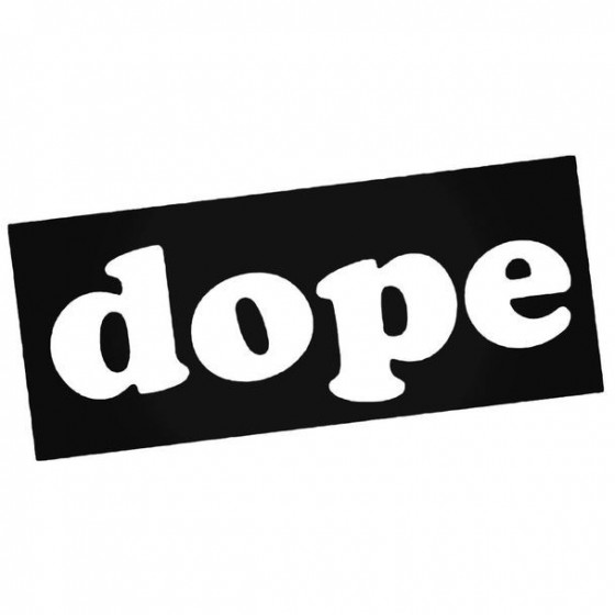Dope Jdm Japanese 14 Decal...