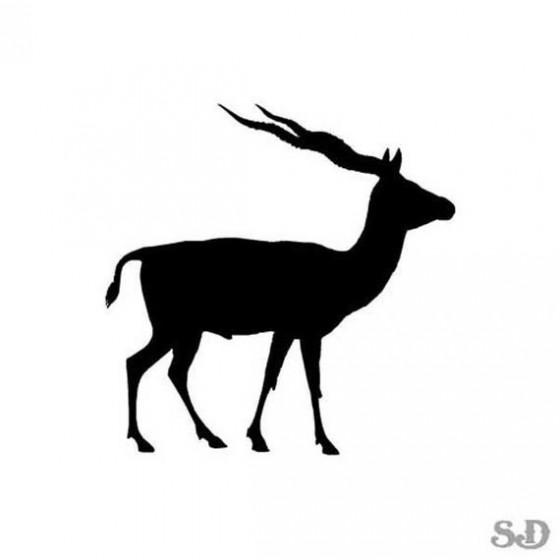 Gazelle Vinyl Decal Sticker V3