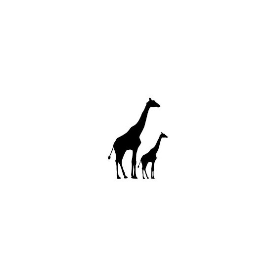 Giraffe Vinyl Decal Sticker...
