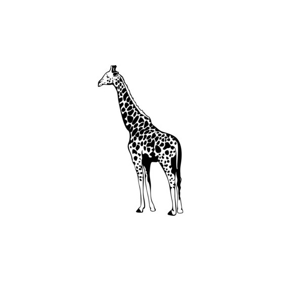 Giraffe Vinyl Decal Sticker V2