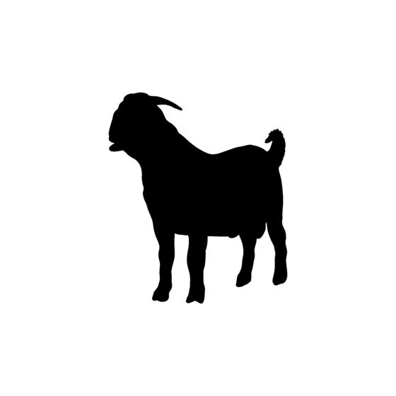 Goat Vinyl Decal Sticker V10