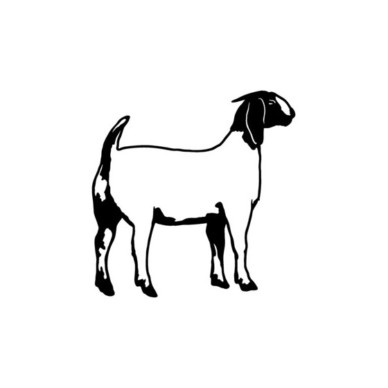 Goat Vinyl Decal Sticker V13