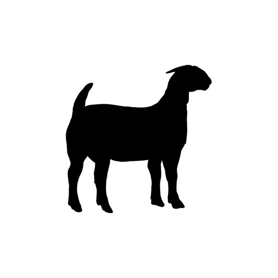 Goat Vinyl Decal Sticker V14