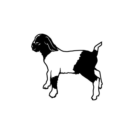 Goat Vinyl Decal Sticker V15