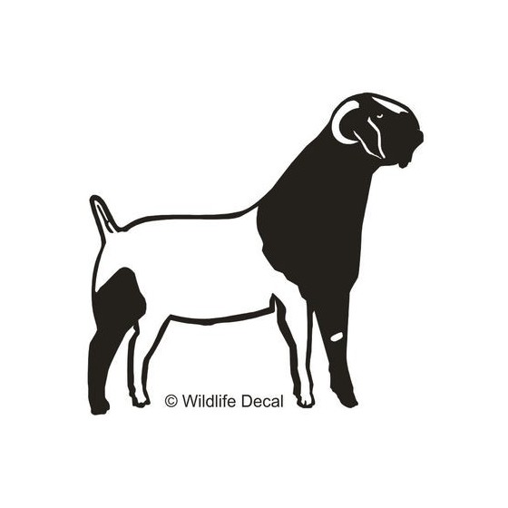 Goat Vinyl Decal Sticker V19