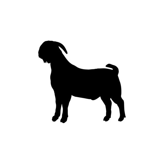 Goat Vinyl Decal Sticker V20