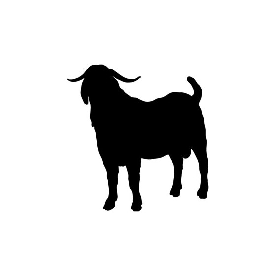 Goat Vinyl Decal Sticker V23