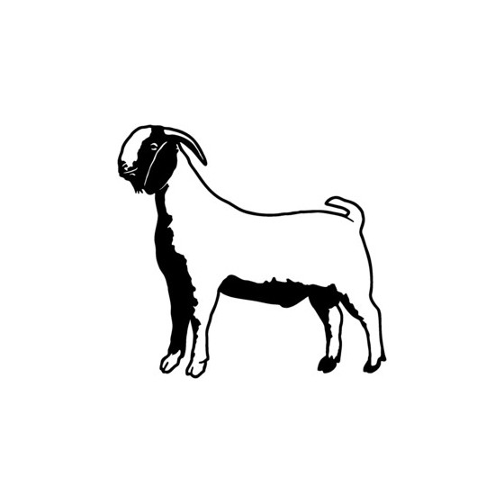 Goat Vinyl Decal Sticker V3