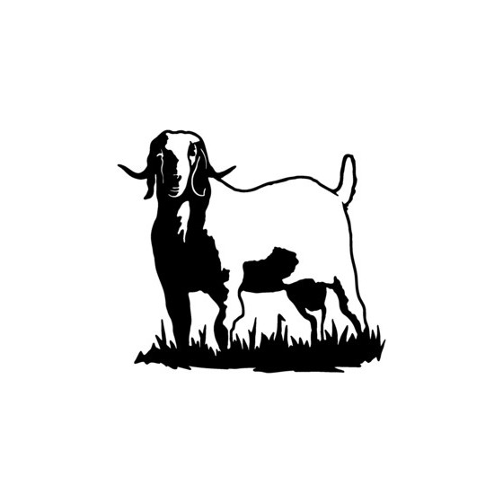 Goat Vinyl Decal Sticker V5