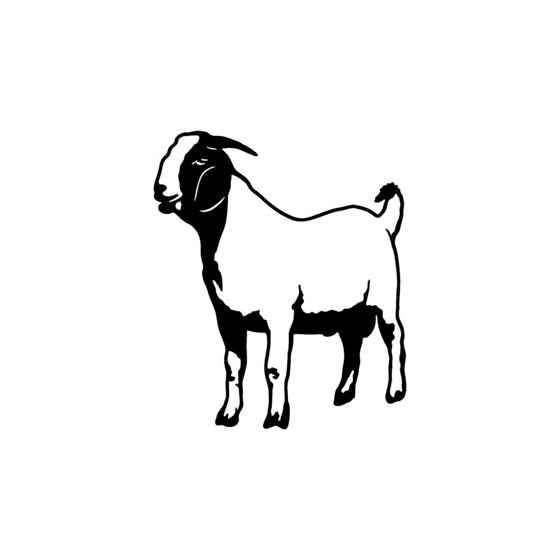 Goat Vinyl Decal Sticker V9