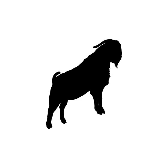 Goat Vinyl Decal Sticker