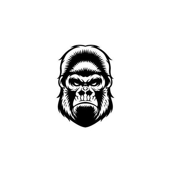Gorilla Vinyl Decal Sticker...