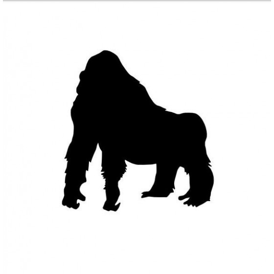 Gorilla Vinyl Decal Sticker...