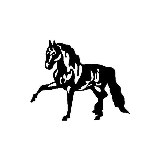 Horse Vinyl Decal Sticker V101