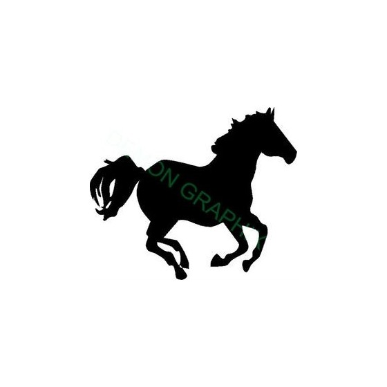 Horse Vinyl Decal Sticker V102