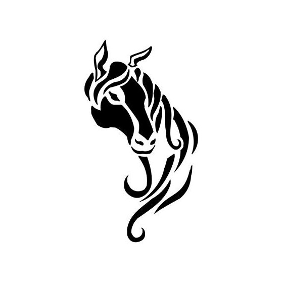 Horse Vinyl Decal Sticker V103