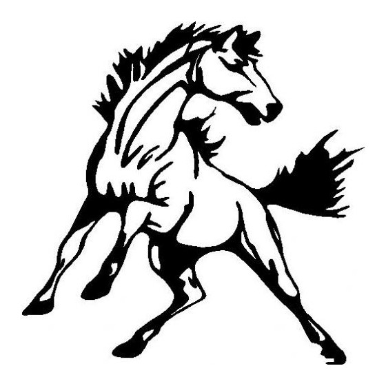 Horse Vinyl Decal Sticker V105
