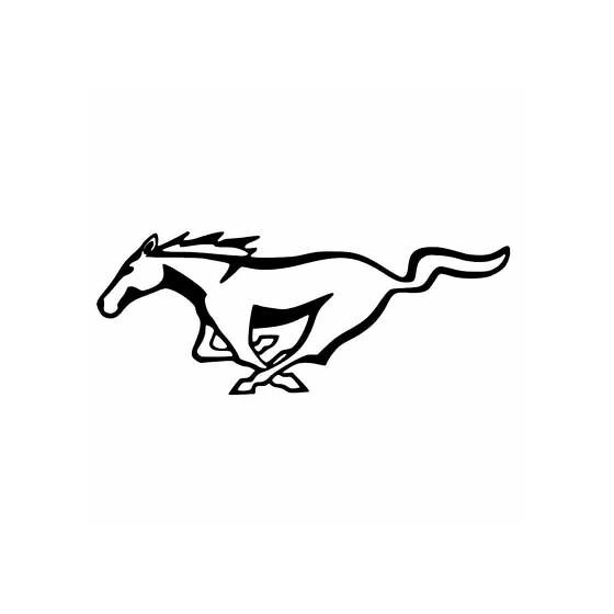 Horse Vinyl Decal Sticker V107
