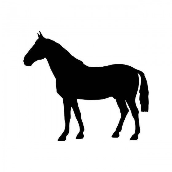 Horse Vinyl Decal Sticker V108
