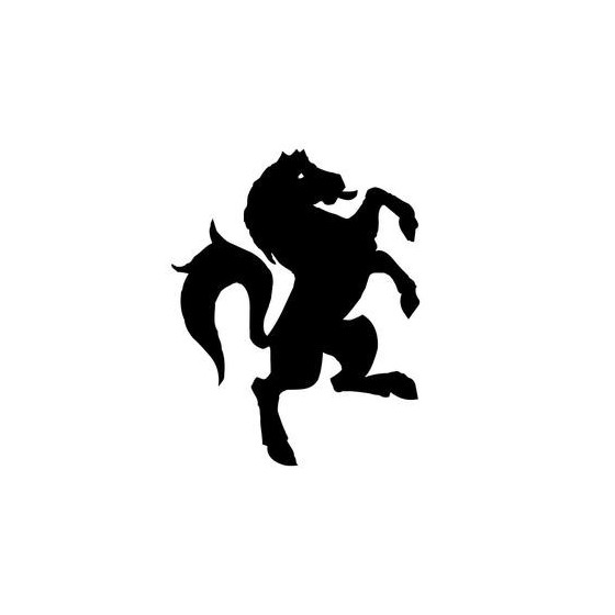 Horse Vinyl Decal Sticker V110