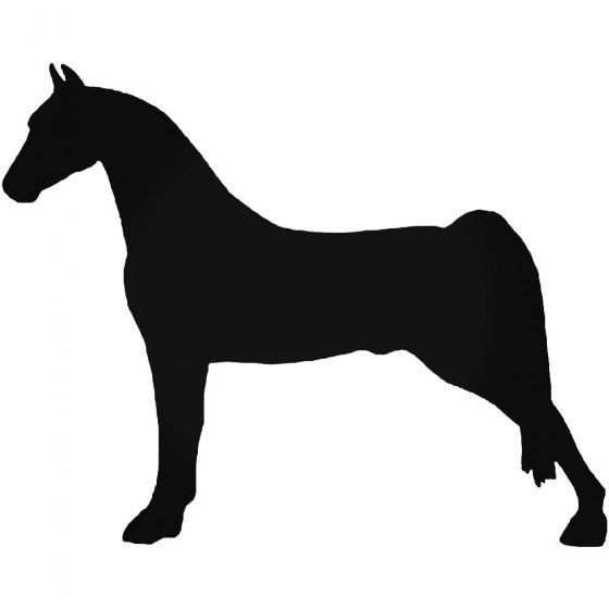 Horse Vinyl Decal Sticker V114