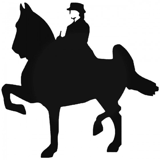 Horse Vinyl Decal Sticker V122