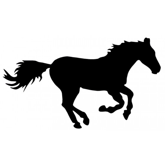 Horse Vinyl Decal Sticker V124