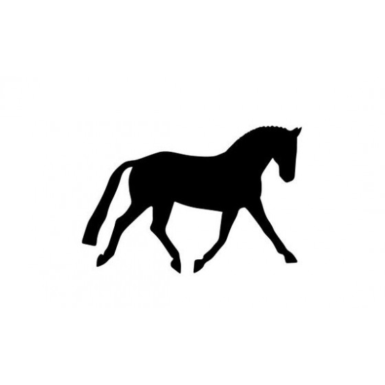 Horse Vinyl Decal Sticker V126