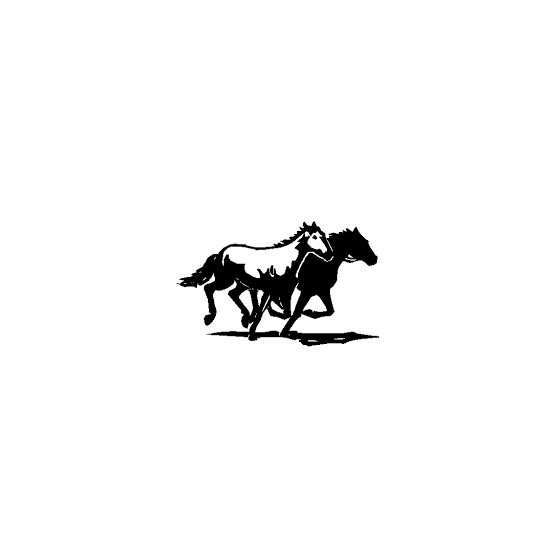 Horse Vinyl Decal Sticker V127