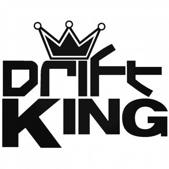 Drift King 4 Decal Sticker