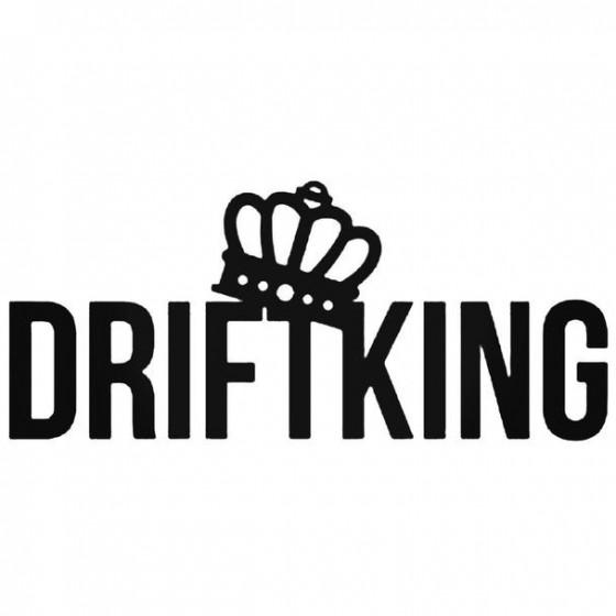 Drift King 7 Decal Sticker