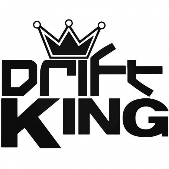 Drift King Decal