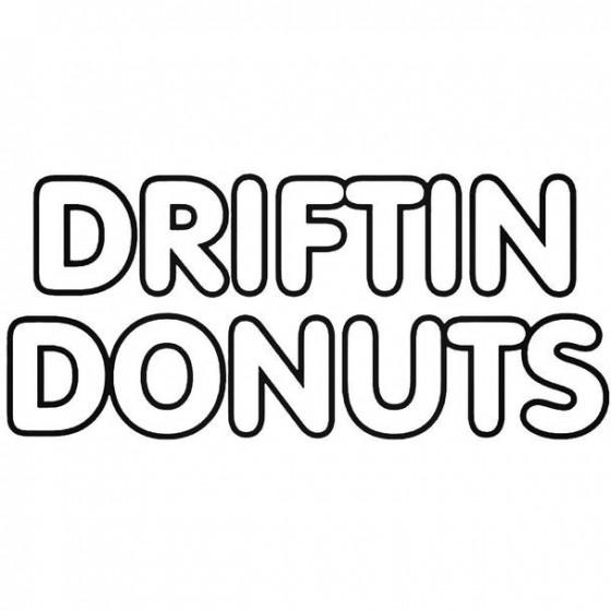 Driftin Donuts 2 Jdm Decal...