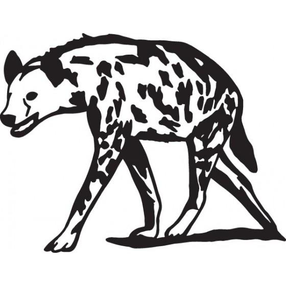 Hyena Vinyl Decal Sticker V10