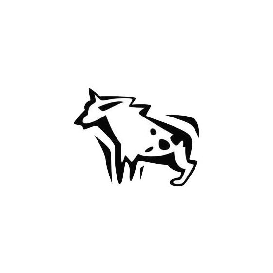 Hyena Vinyl Decal Sticker V11
