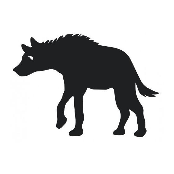 Hyena Vinyl Decal Sticker V12