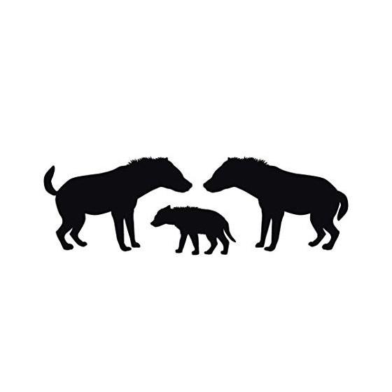 Hyena Vinyl Decal Sticker V14