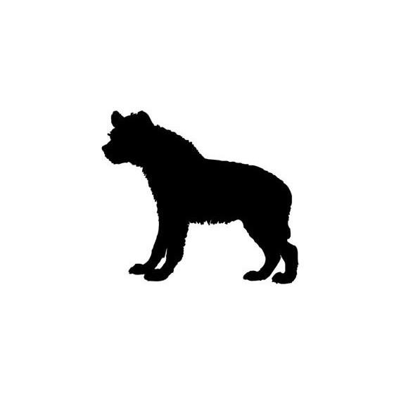 Hyena Vinyl Decal Sticker V15