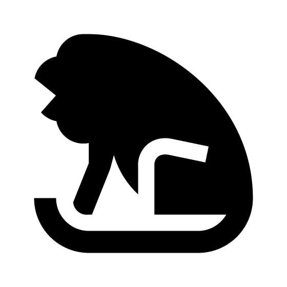 Hyena Vinyl Decal Sticker V17