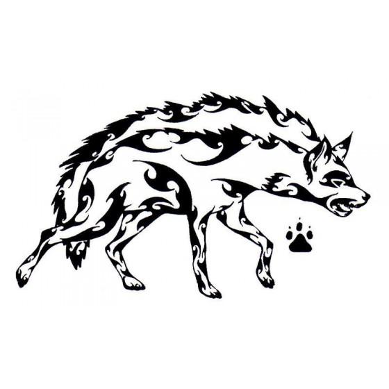 Hyena Vinyl Decal Sticker V19