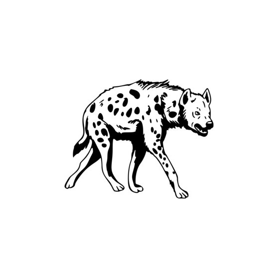 Hyena Vinyl Decal Sticker V2