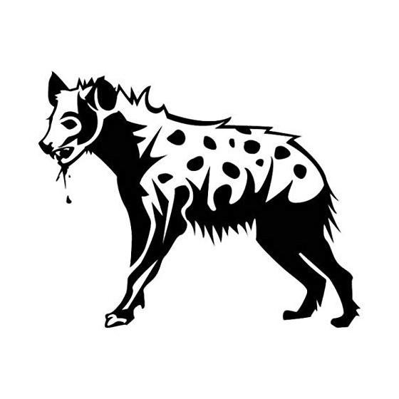 Hyena Vinyl Decal Sticker V3
