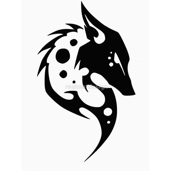 Hyena Vinyl Decal Sticker V4